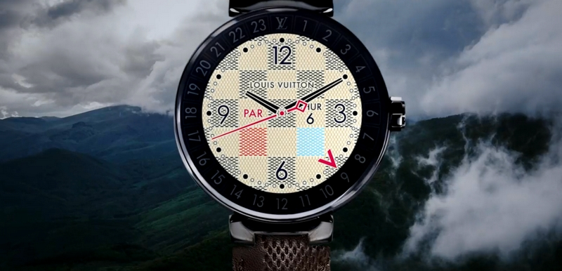 Take a journey and explore the Louis Vuitton Tambour Horizon Connected Watch-2017