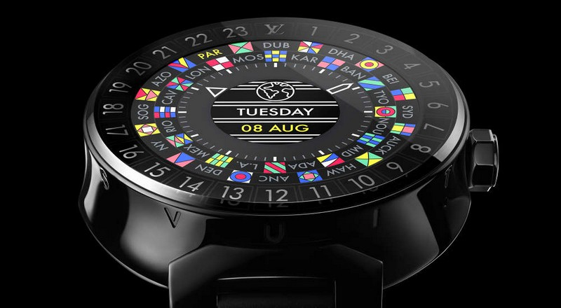 Take a journey and explore the Louis Vuitton Tambour Horizon Connected Watch