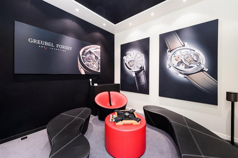Take a look at the Greubel Forsey exhibition space at SIHH 2017-