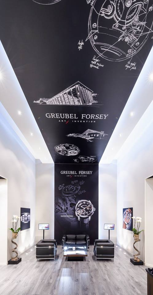 Take a look at the Greubel Forsey exhibition space at SIHH 2017
