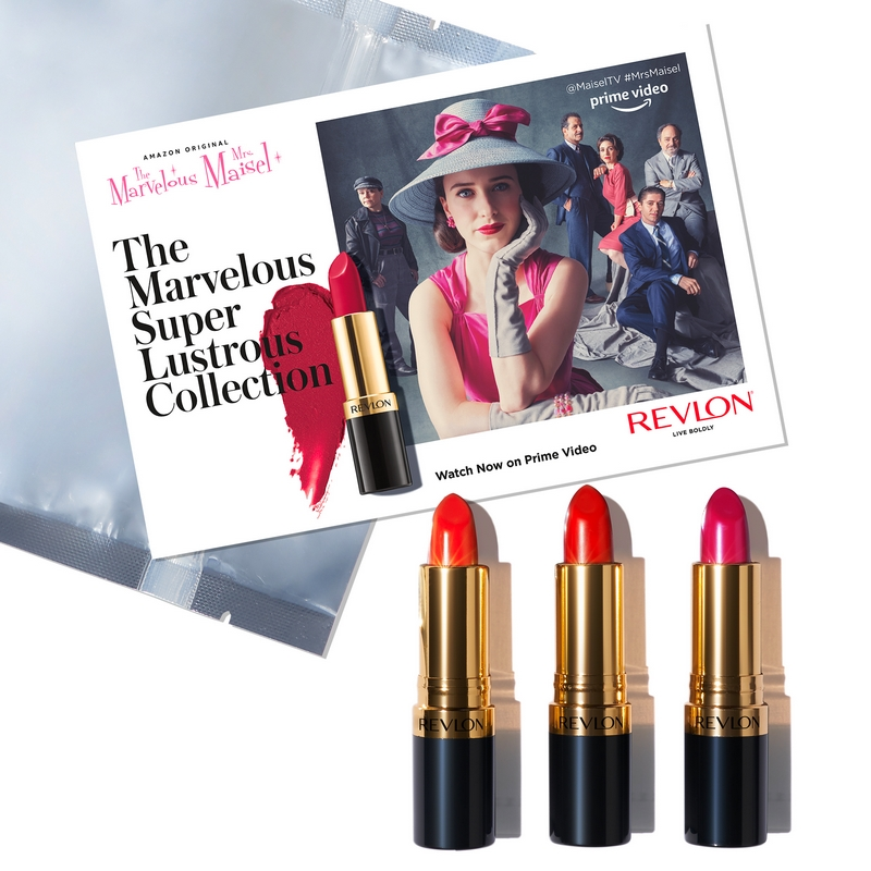 Take the Stage Reds - Make A Statement in Shades Inspired by the Amazon Original Series, The Marvelous Mrs. Maisel