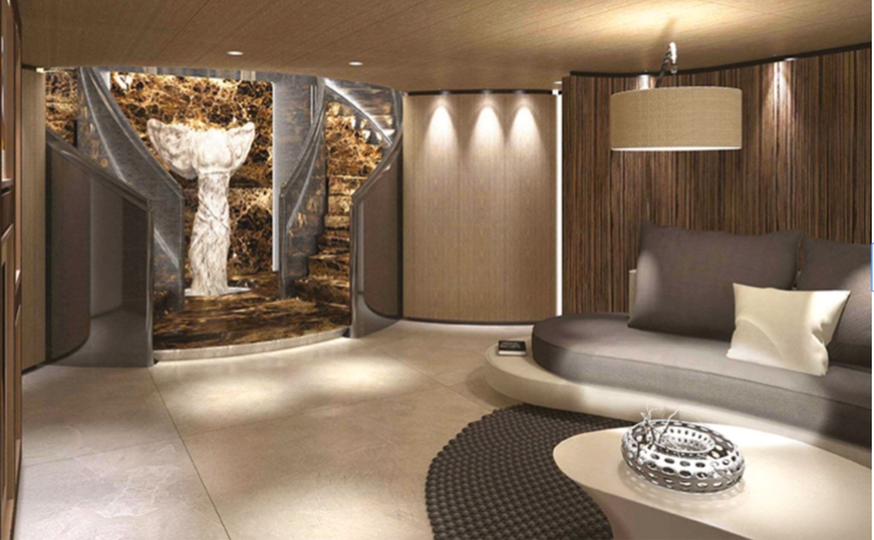 Tankoa S701 welcomes all top luxury amenities we can imagine-
