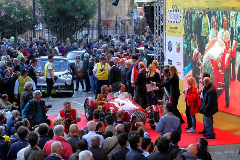 Targa Florio 100 edition of the classic car race