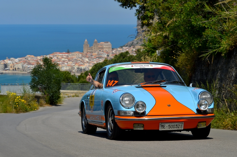 Targa Florio classic car race photog