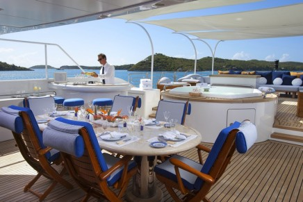 The Most Unique Dining Experiences for Superyacht Charter's