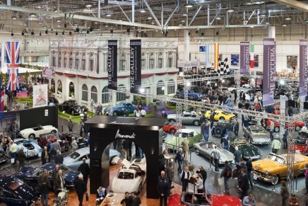 An armada of vintage racing cars at the 2014 Techno Classica