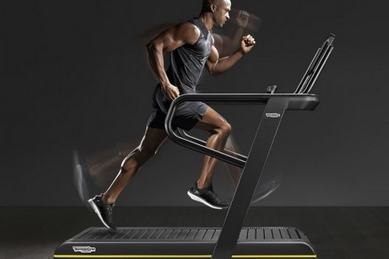 Train for virtually any kind of running route with the ultimate athletic training treadmill