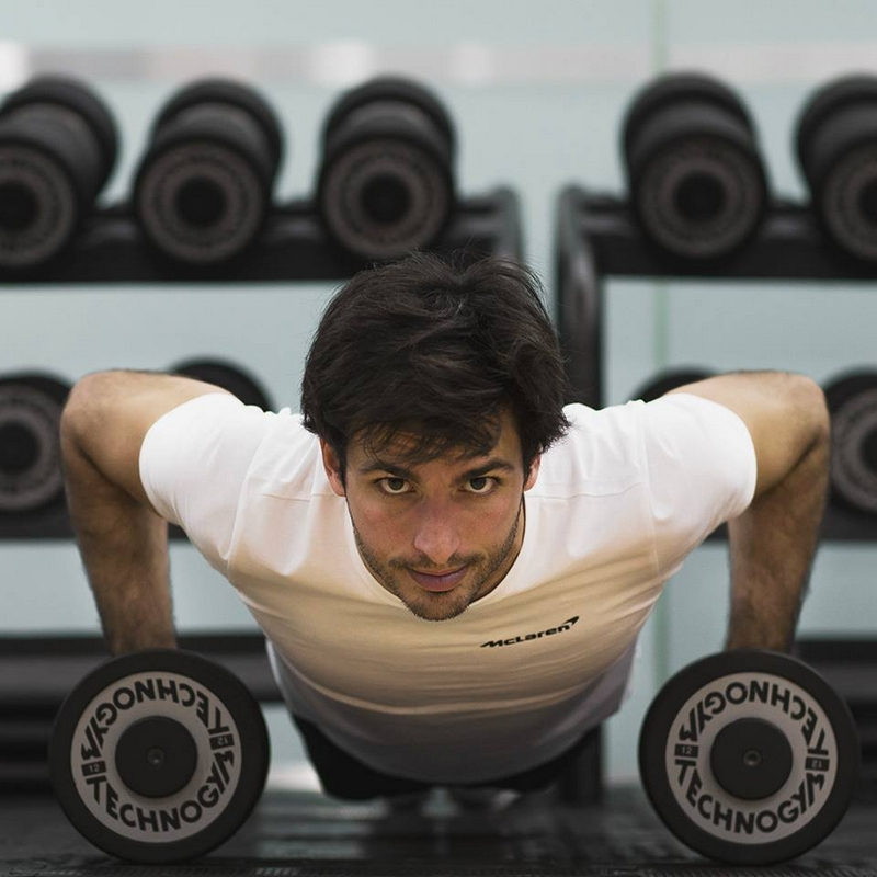 Technogym is at the side of the McLaren drivers throughout every stage of their physical training