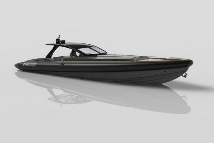 Tecnorib unveils new flagship tender. Pirelli 1900 is the largest Pirelli boat to date
