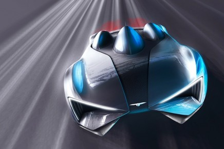 Techrules reveals design details of its production supercar designed by Giugiaro