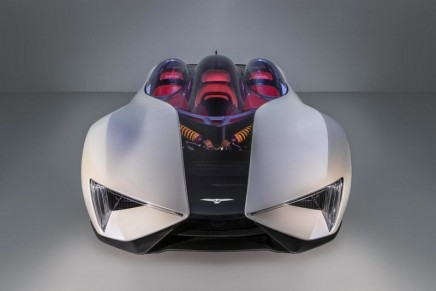 Techrules joins an elite club at Villa D'Este to present its Ren electric supercar
