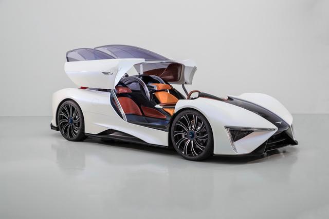 Techrules joins an elite club at Villa D'Este to present its Ren electric supercar 2017
