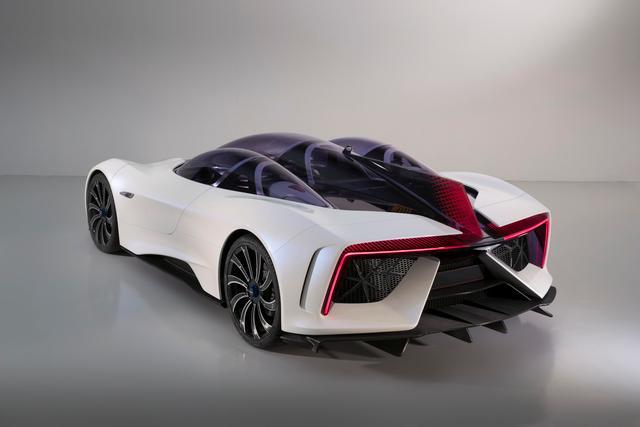Techrules joins an elite club at Villa D'Este to present its Ren electric supercar - REAR