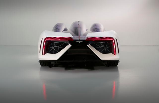 Techrules joins an elite club at Villa D'Este to present its Ren electric supercar - rear photos