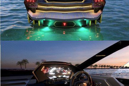 Tecnomar for Lamborghini 63: A unique Lamborghini on water
