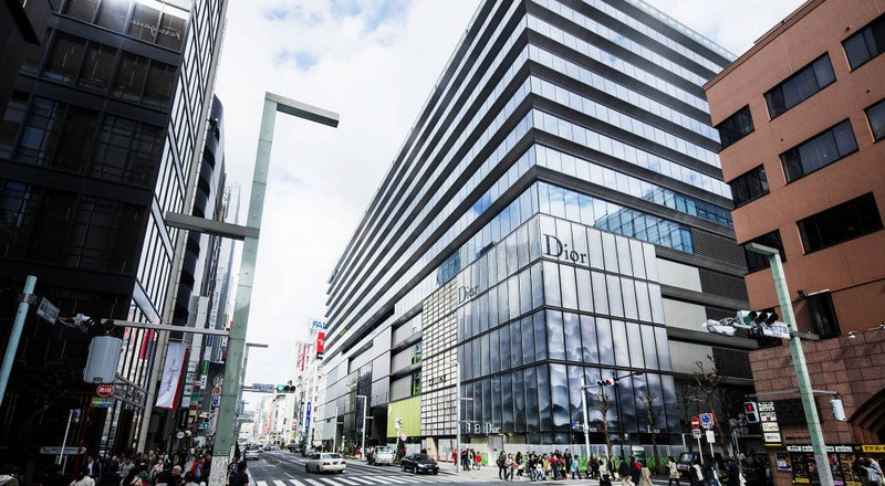 Ten LVMH Maisons open in Ginza Six retail complex in Tokyo-