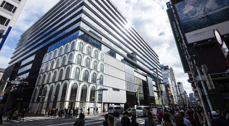 Ten LVMH Maisons open in Ginza Six retail complex in Tokyo