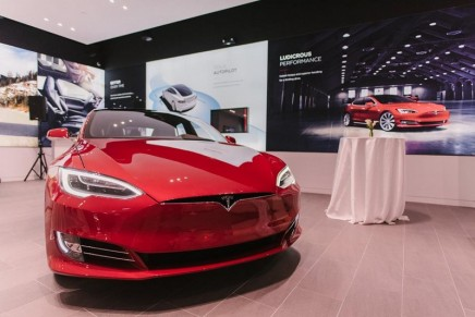 Tesla charges ahead to overtake Ford in market value