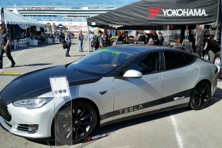 The most expensive Tesla Model S at 2014 LA Auto Show