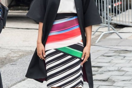Half-dressing: the rise of the party skirt