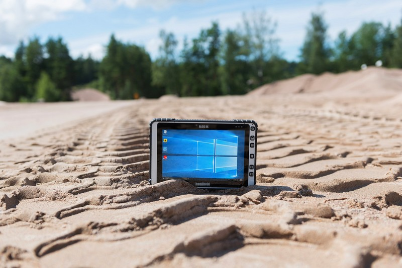 Tested for ruggedness - 2017 Algiz 8X ultra-rugged tablet computer-