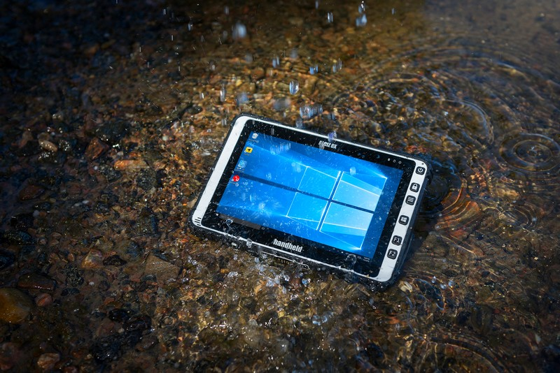 Tested for ruggedness-2017 Algiz 8X ultra-rugged tablet computer-