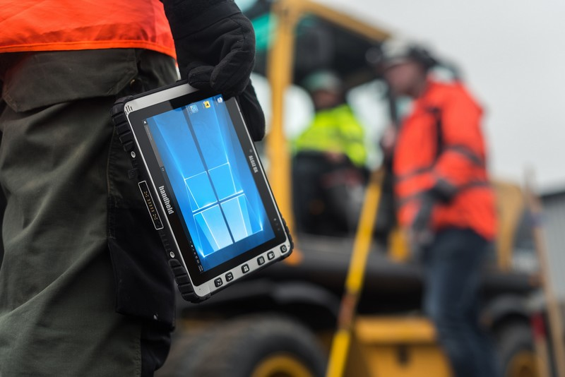 Tested for ruggedness - 2017 Algiz 8X ultra-rugged tablet computer