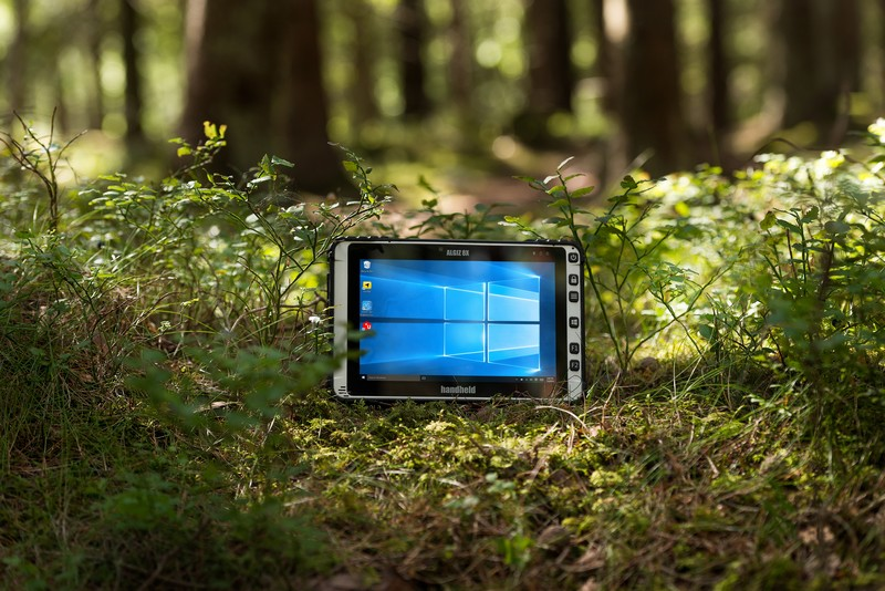 Tested for ruggedness-2017 Algiz 8X ultra-rugged tablet