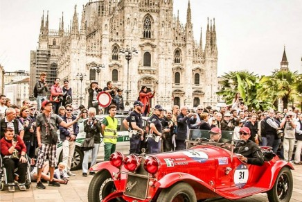 The 1000 Miglia ends with Alfa Romeo cars taking the top three places