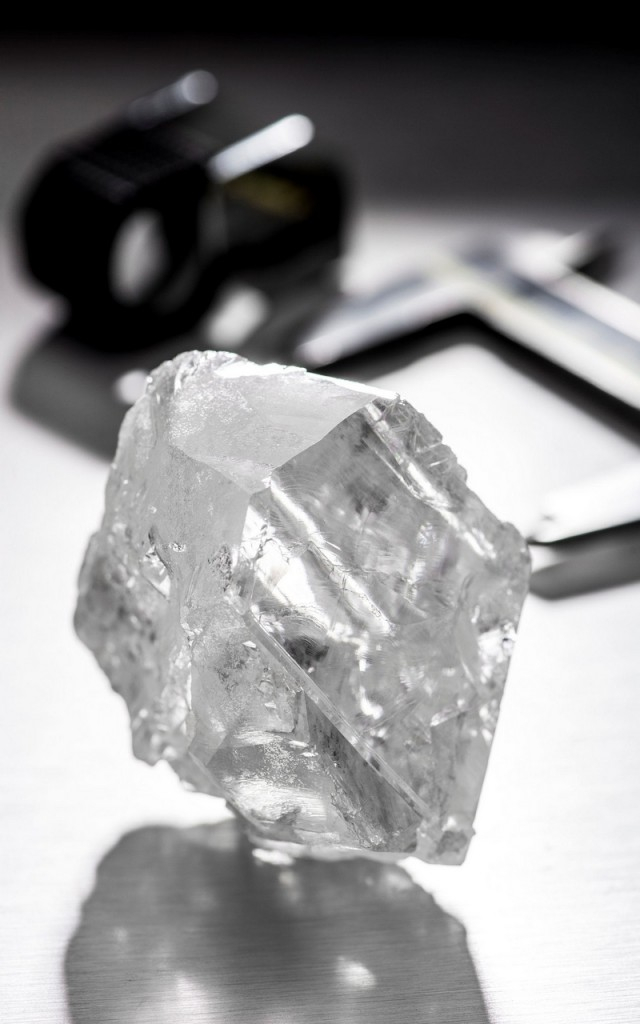 The 1,109-carat Lesedi La Rona bought by Graff