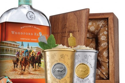 The 2015 edition of Woodford Reserve's $1,000 Mint Julep Cup