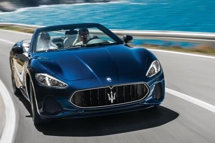 Maserati Unveils Refreshed 2018 Maserati GranTurismo Convertible MC