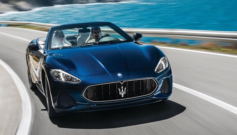 The 2018 Maserati GranTurismo Convertible MC