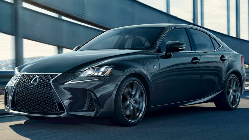 The 2019 Lexus IS 300 F SPORT Black Line Special Edition gives drivers a new way to express their style-