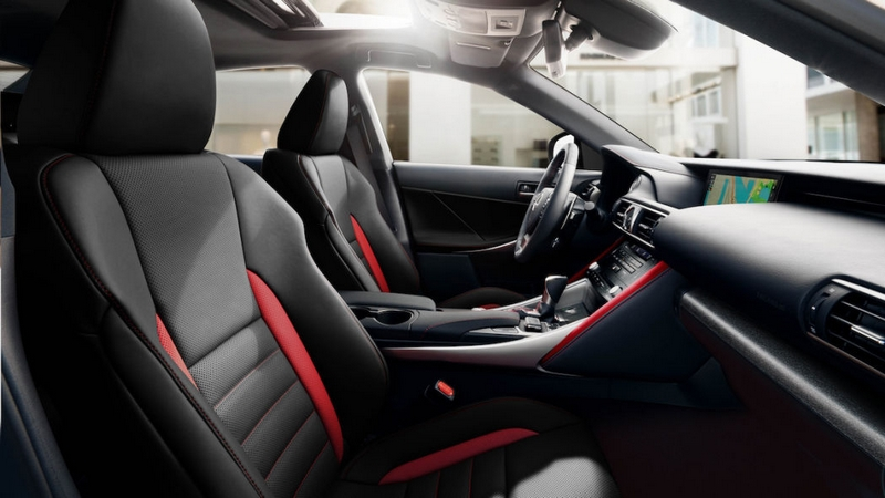 The 2019 Lexus IS 300 F SPORT Black Line Special Edition gives drivers a new way to express their style-interior