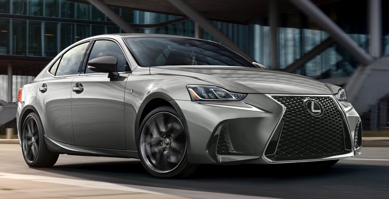 The 2019 Lexus IS 300 F SPORT Black Line Special Edition gives drivers a new way to express their style