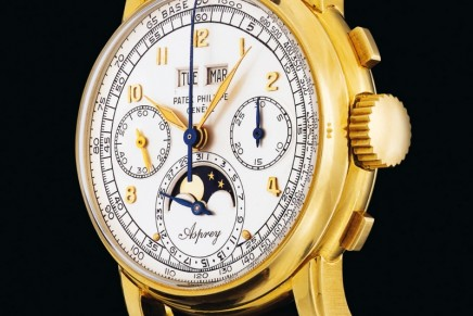 The $3.9m Asprey sold in Geneva is the Most Expensive Watch at Auction in 2018