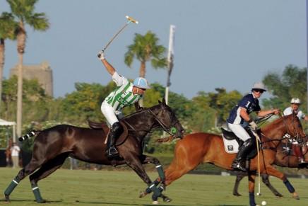 Enjoying polo. Enjoying Sotogrande