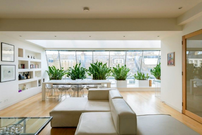The 5 Strangest Luxury Property Conversions in London - BRINGING OUTDOORS INSIDE