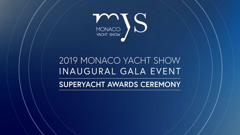 The 6th Monaco Yacht Show Superyacht Awards Ceremony to distinguish four spectacular luxury vessels