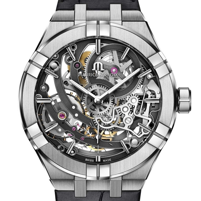 The AIKON Automatic Skeleton timepieces by MauriceLacroix-