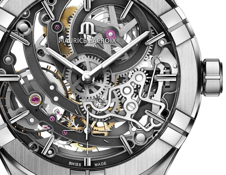 The AIKON Automatic Skeleton timepieces by MauriceLacroix