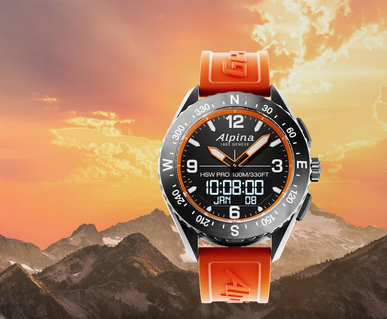 The AlpinerX App works in perfect coordination with your connected watch-