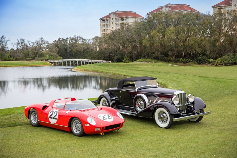 The Amelia Island Concours d'Elegance cars 2018