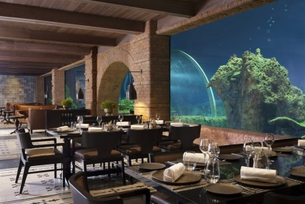 Bali's first aquarium dining experience brings the wonders of the ocean to your table
