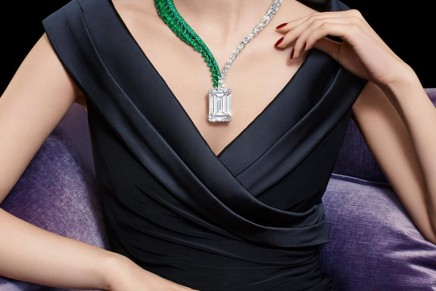 The Art of de GRISOGONO, Creation 1, the largest ever emerald-cut diamond offered at auction, breaks records