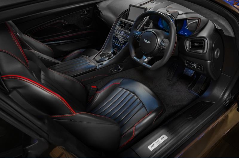 The Aston Martin DBS Superleggera 2019 edition-03interior