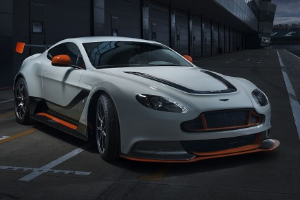 The most potent and uncompromising Vantage to date is coming to Geneva Motor Show 2015