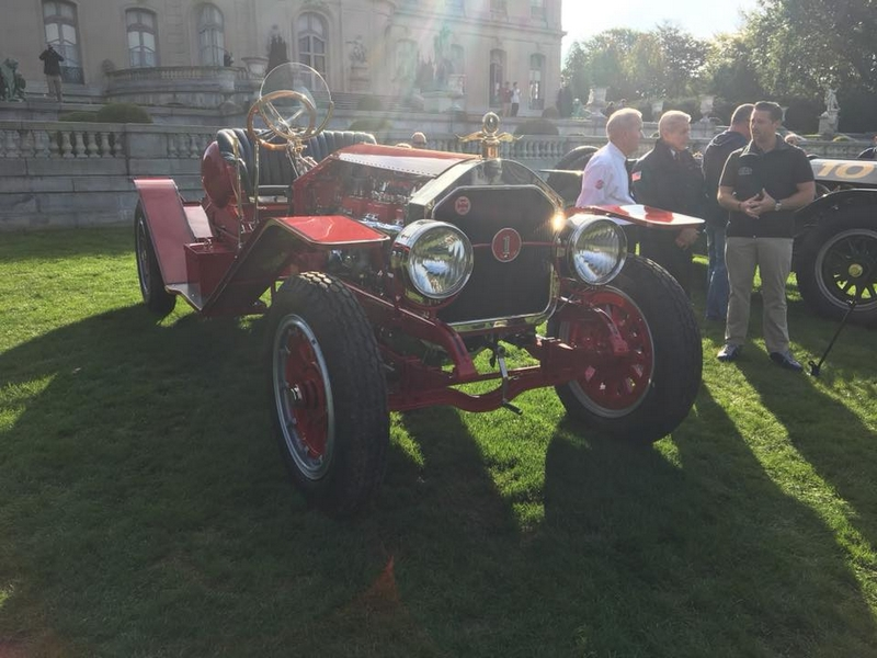 The Audrain Automobile Museum Cars and Coffee at Chateau-sur-Mer-