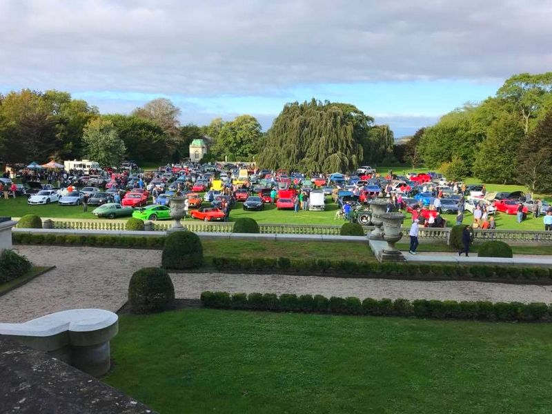 The Audrain Automobile Museum Cars and Coffee at Chateau-sur-Mer